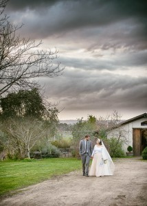 Bride and groom, wedding at Jones Road Winery, Mornington Peninsula