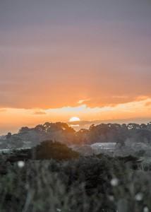 Sunset over the Mornington Peninsula