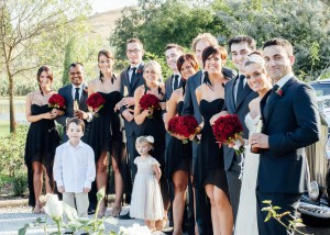 Bridal party at Immerse