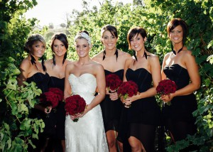 Immerse-Bride and bridesmaids Immerse winery wedding-wedding-30