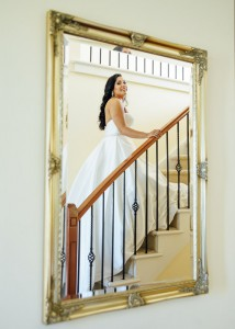 bride-on-the-stairs